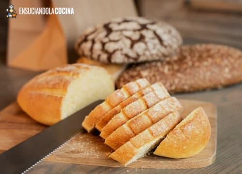 cuchillo de cocina de cortar pan